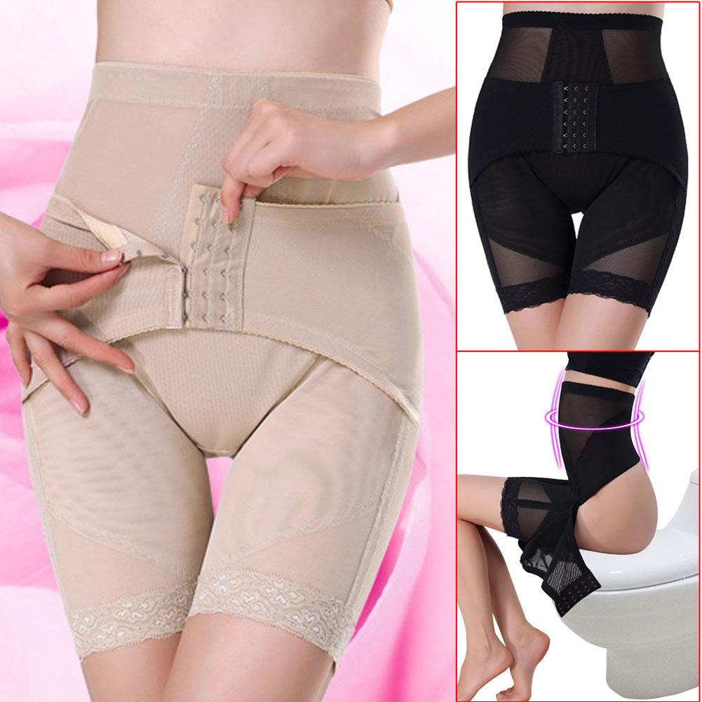 187bf5ae672 Women High Waist Body Shaper Pant Control Slim Tummy Shapewear Thigh ...