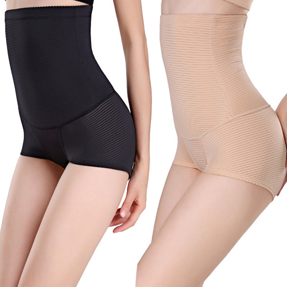 Women Lady High Waist Body Shaper Underwear Control Slim ...