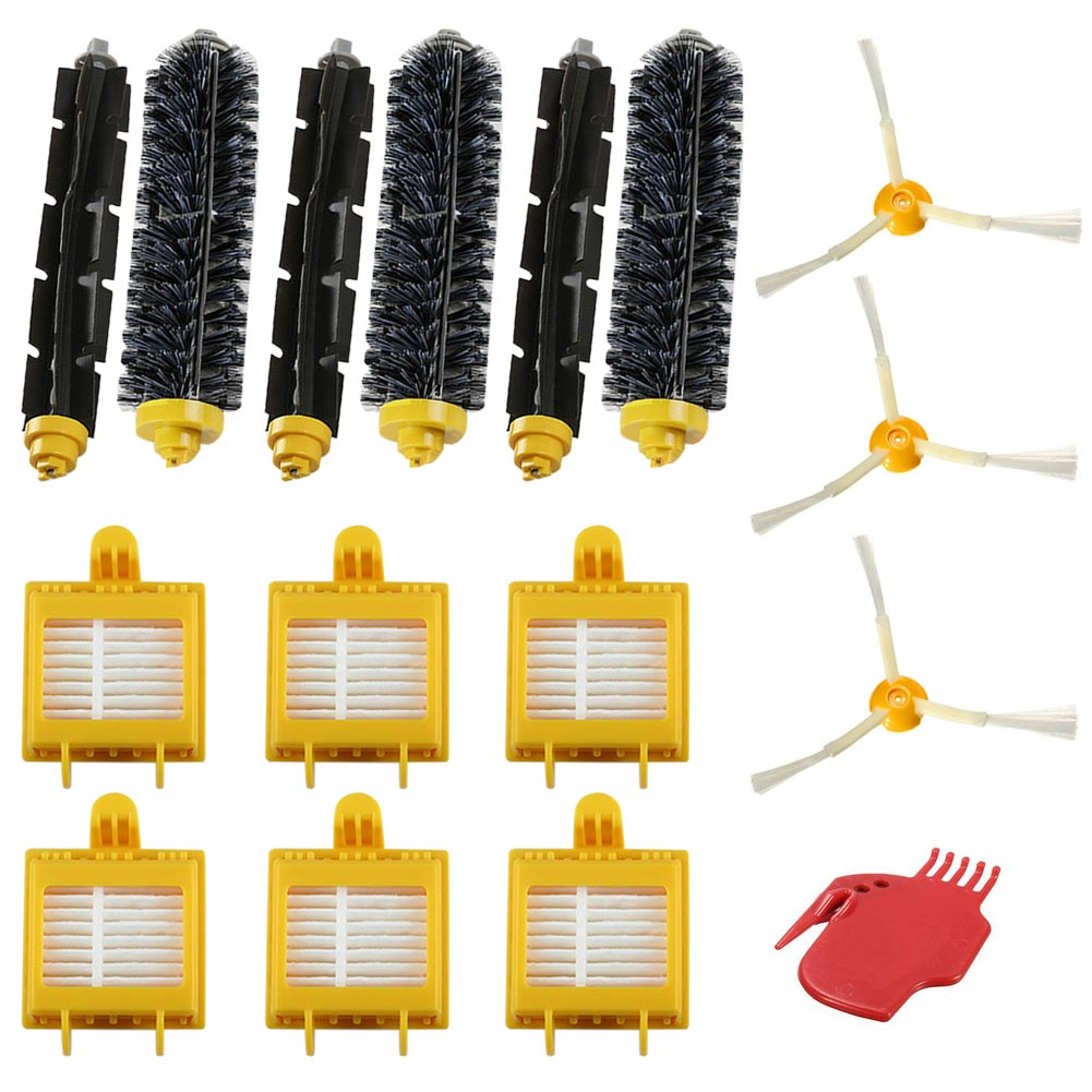 Beater Bristle Brush Filter 3 Armed Side Brush Set Series for 700 760 770
