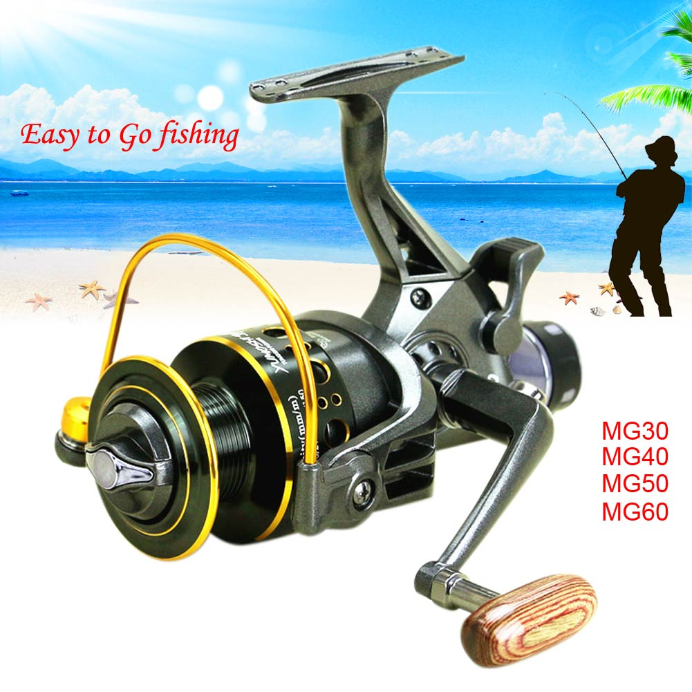 10+1BB Ball Bearing Metal Left/Right Handle Spinning Fishing Reel MG Series