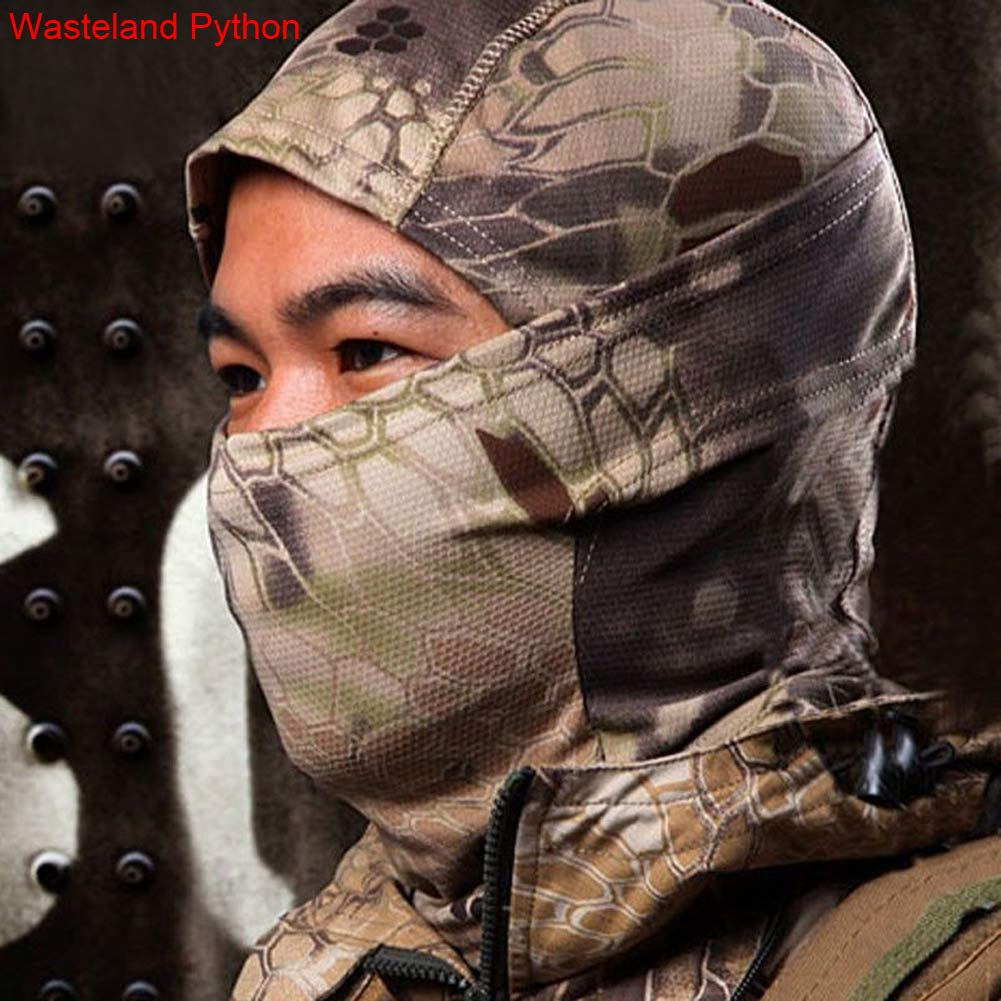 OutdoorWindproof MilitaryTactical Climbing Sports Full Face Camouflage Mask
