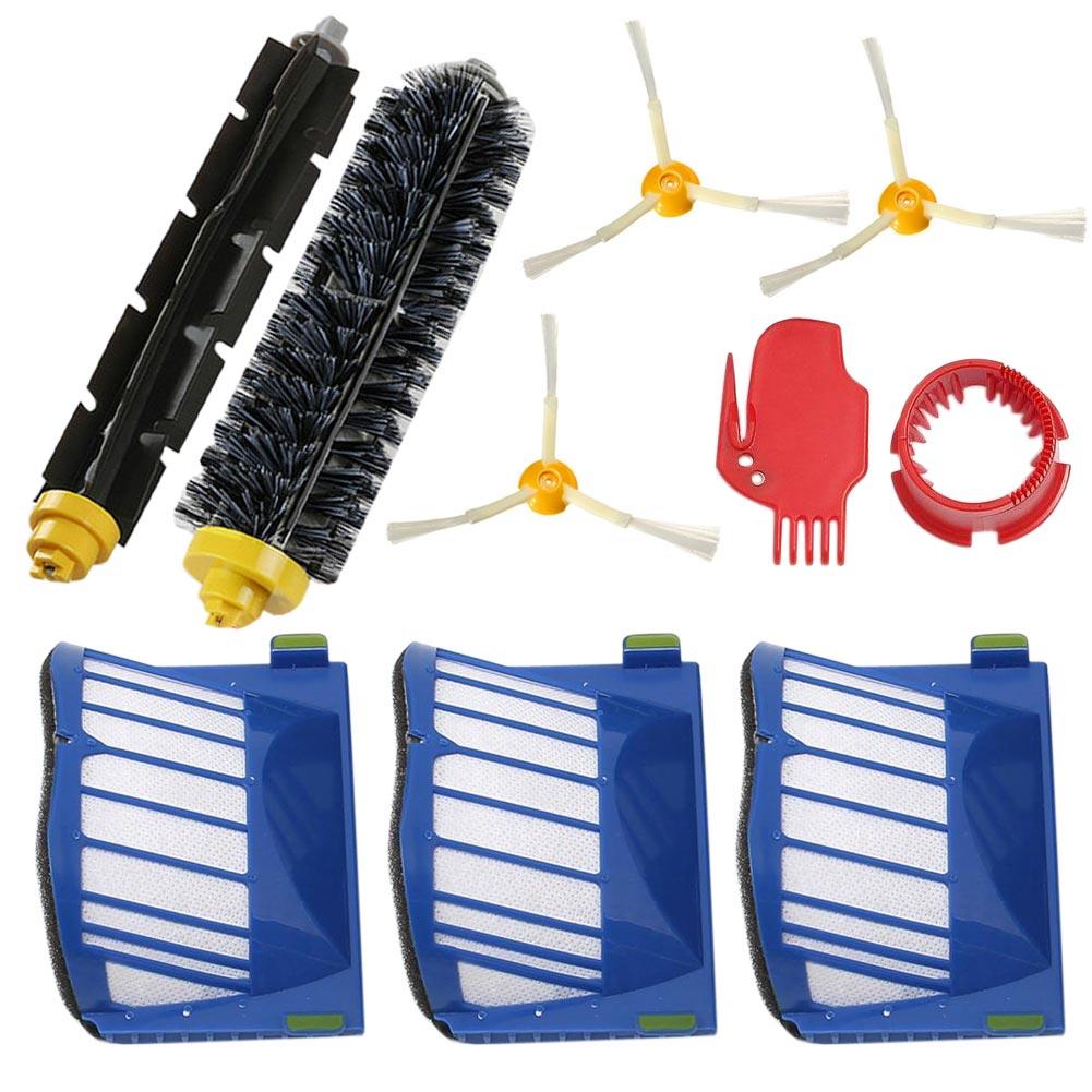 Beater Bristle Brush Filter3Armed Brush Set Kit Series for 600 610 620 650
