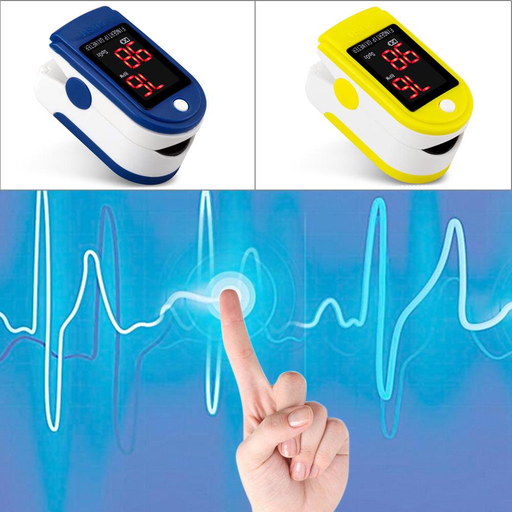 PortableFingertip Pulse Oximeter Blood Oxygen Saturation Heart Rate Monitor