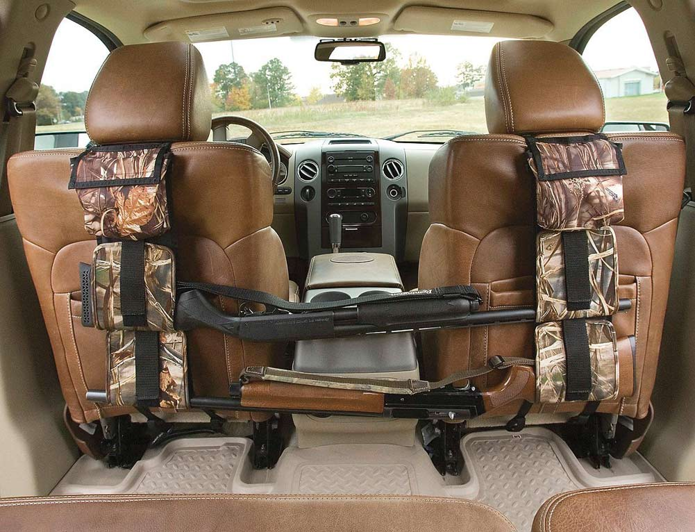 Car Seat Back Gun Rack Sling Holder Concealed Camouflage Oxford Fabrics