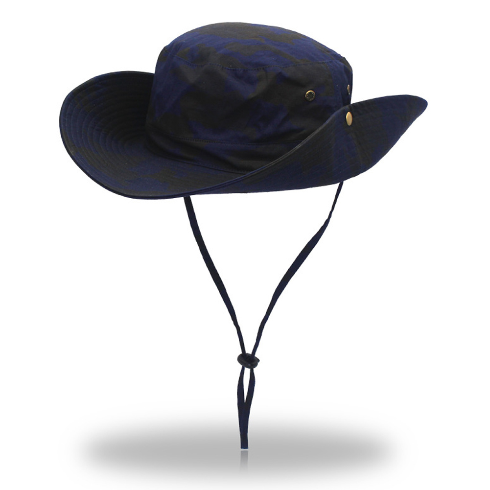Wide brim mens fishing hat fisherman hat outdoor summer for Fishing hats sun protection
