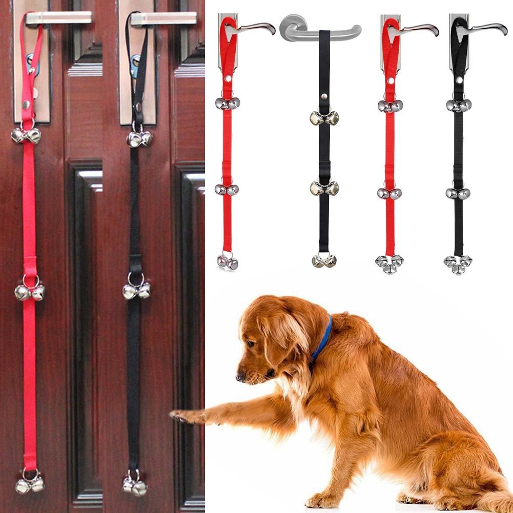 Adjustable Dog Doorbell for Doggy Training Housebreaking Housetraining