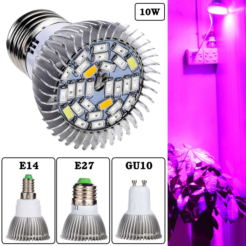 5730SMD 28Led Full Spectrum Greenhouse Hydroponic Grow PlantLight Bulb Lamp
