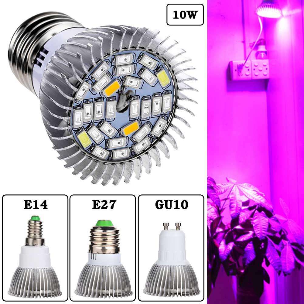 5730SMD 28Led Full Spectrum Greenhouse Hydroponic Grow PlantLight Bulb Lamp