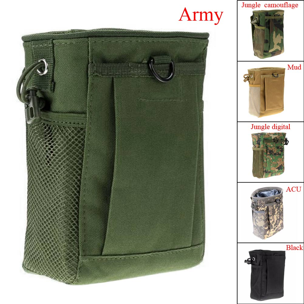 Small Reusable Military Camping Portable Recycle Collection Bag Pouch