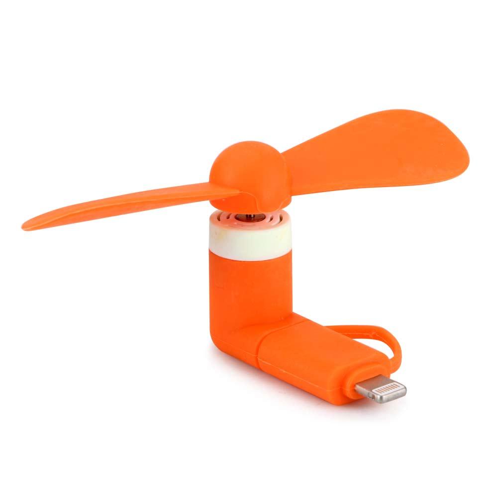2in1 Portable Cellphone Mini Micro Usb Fan Coolingcooler