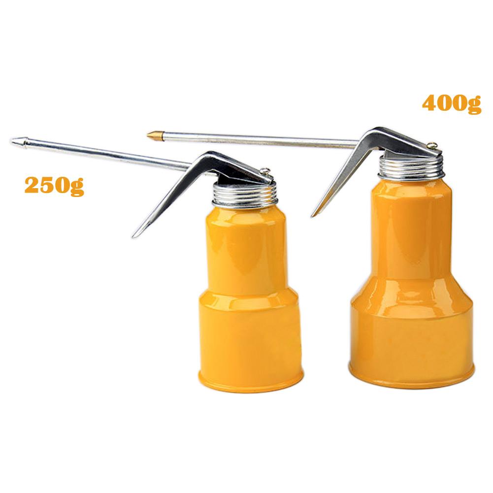 High Pressure Metal Oil Can Gun Pump Crease Squirt Spray for Lubricant