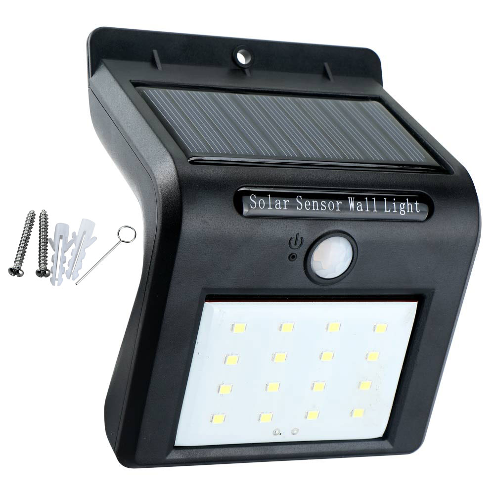 Outdoor Solar Sensor Lights Nz: 8/16 LED Outdoor Solar PIR Motion Sensor Waterproof Wall