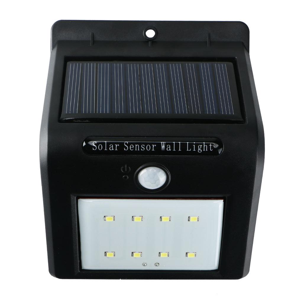 Outdoor Solar Sensor Lights Nz: Waterproof Solar Power PIR Motion Sensor LED Wall Light