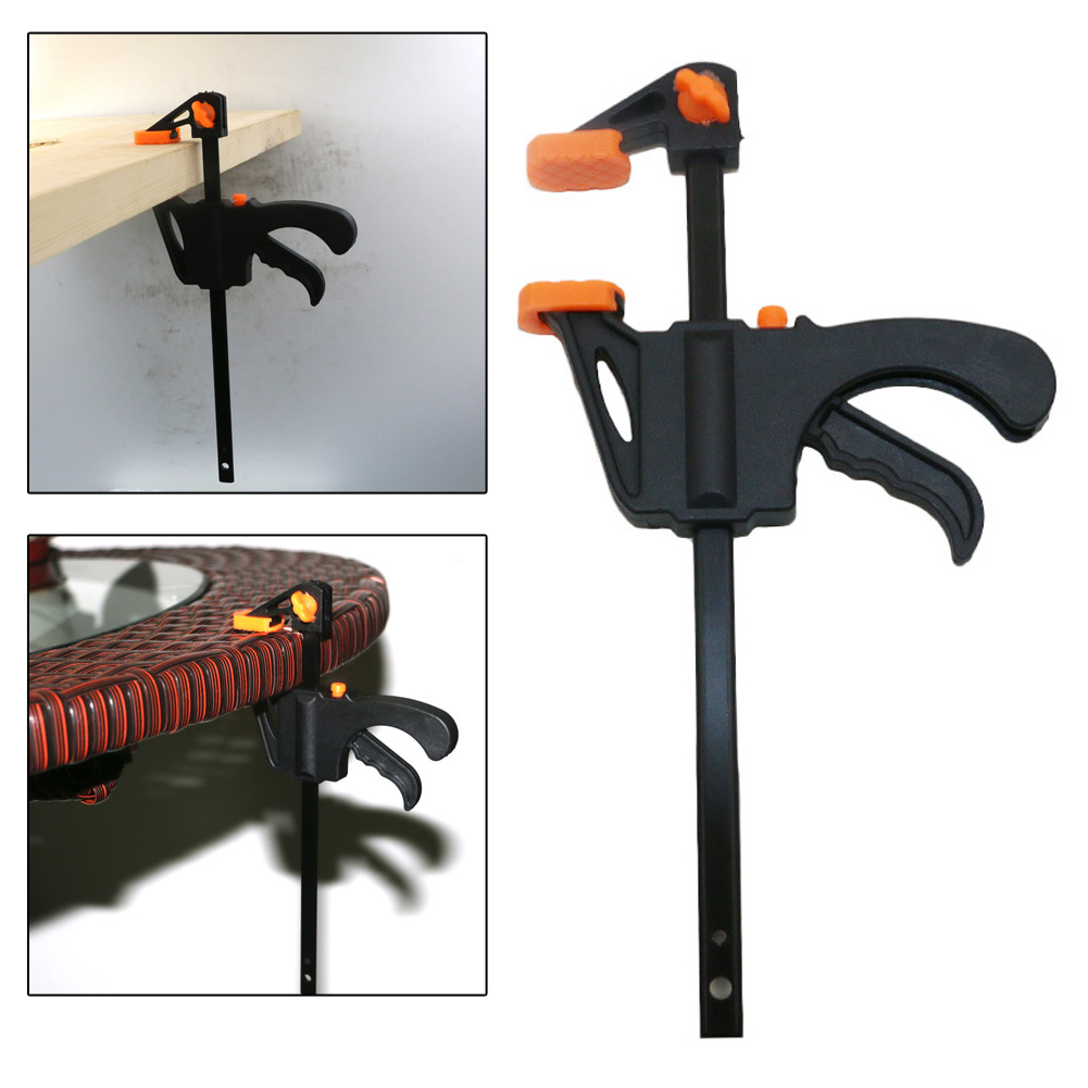 details about 4inch ratchet release speed squeeze wood bar clamp spreader  tool woodwork kit