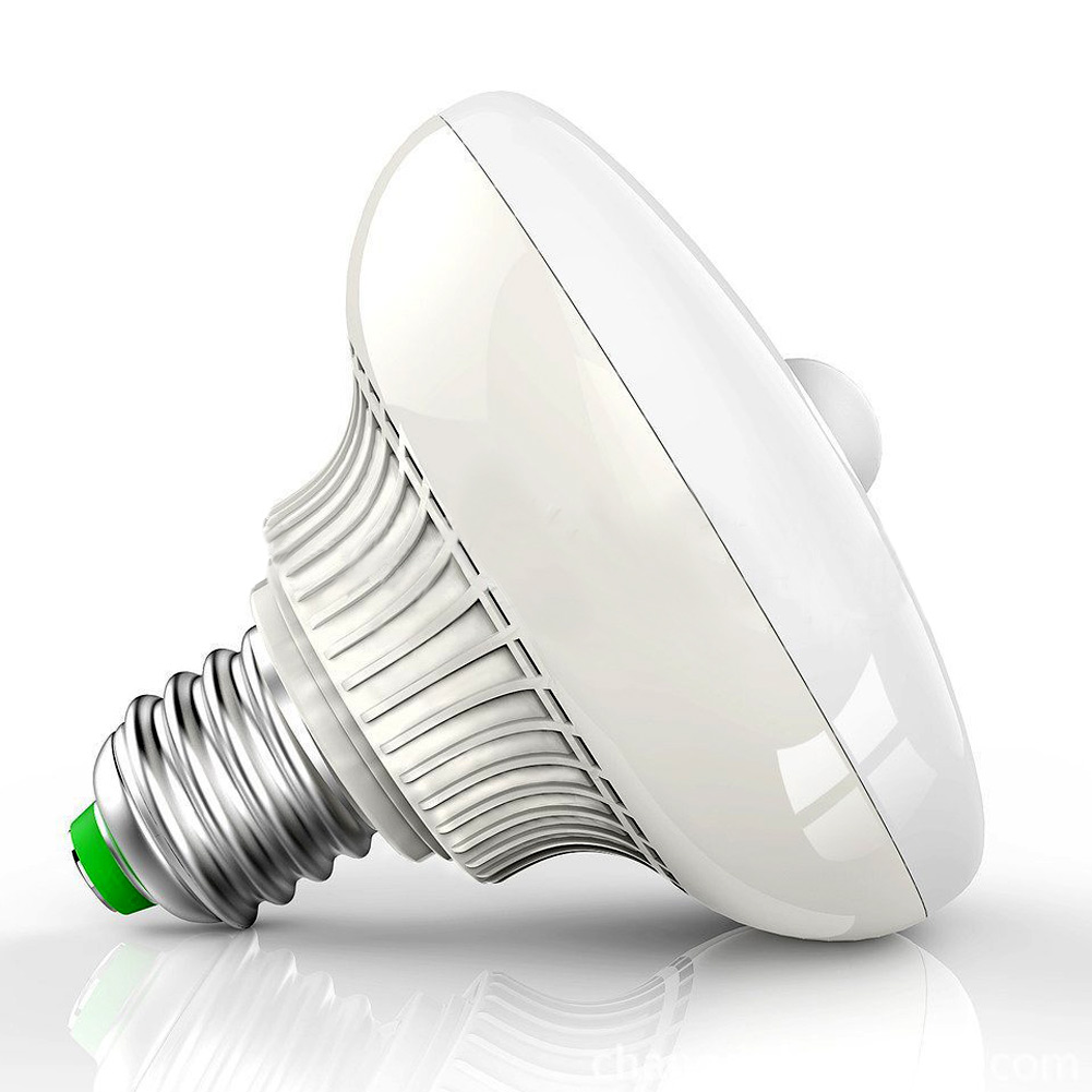 E27 12w Auto Body Motion Sensor Led Infrared Light Bulb