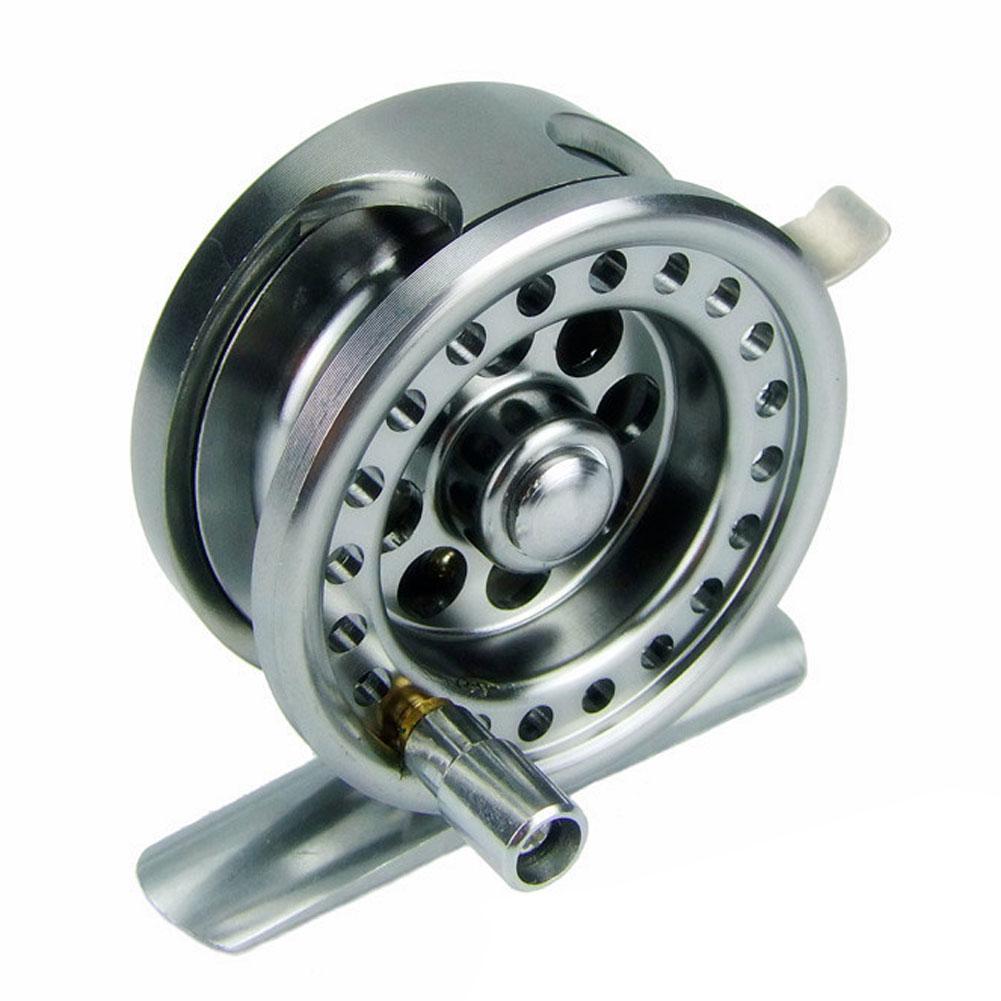 Full metal aluminum alloy body fly fishing reel wheel gear for Fly fishing reels