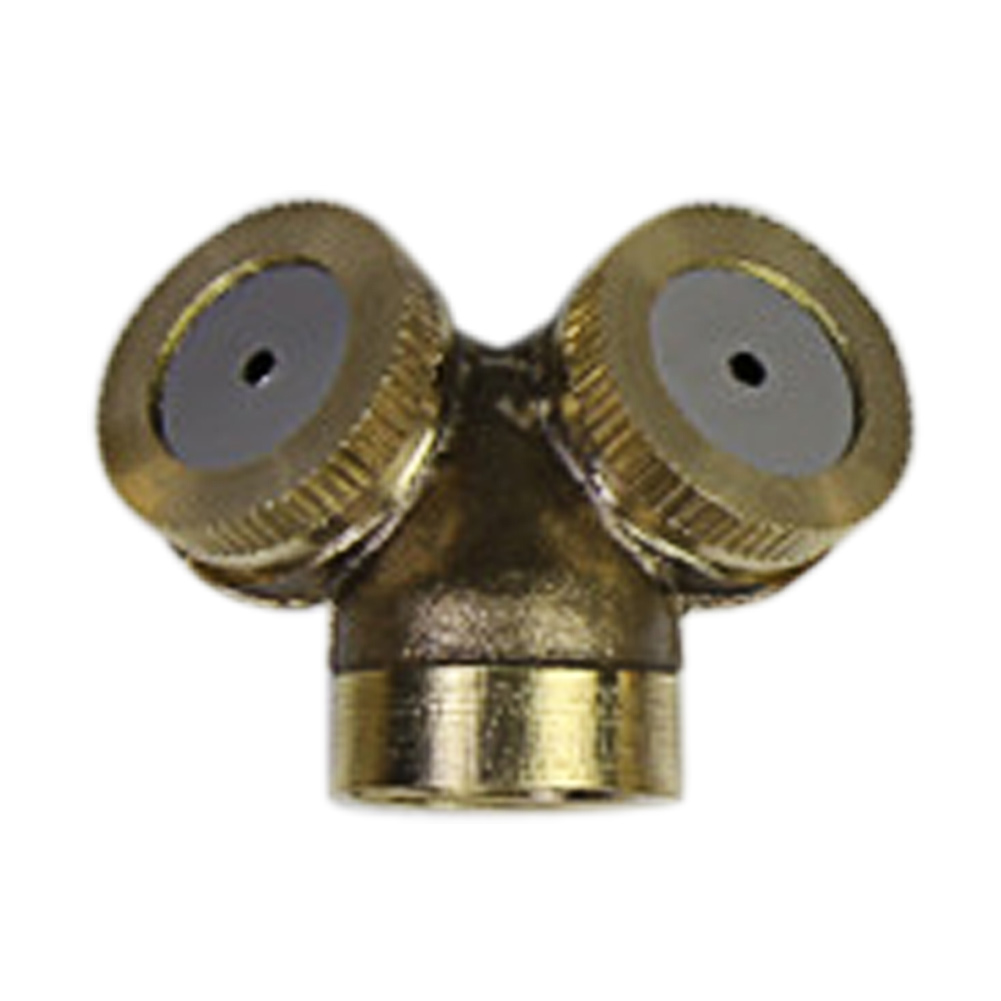Brass spray misting nozzle sprinkler head gardenfarm