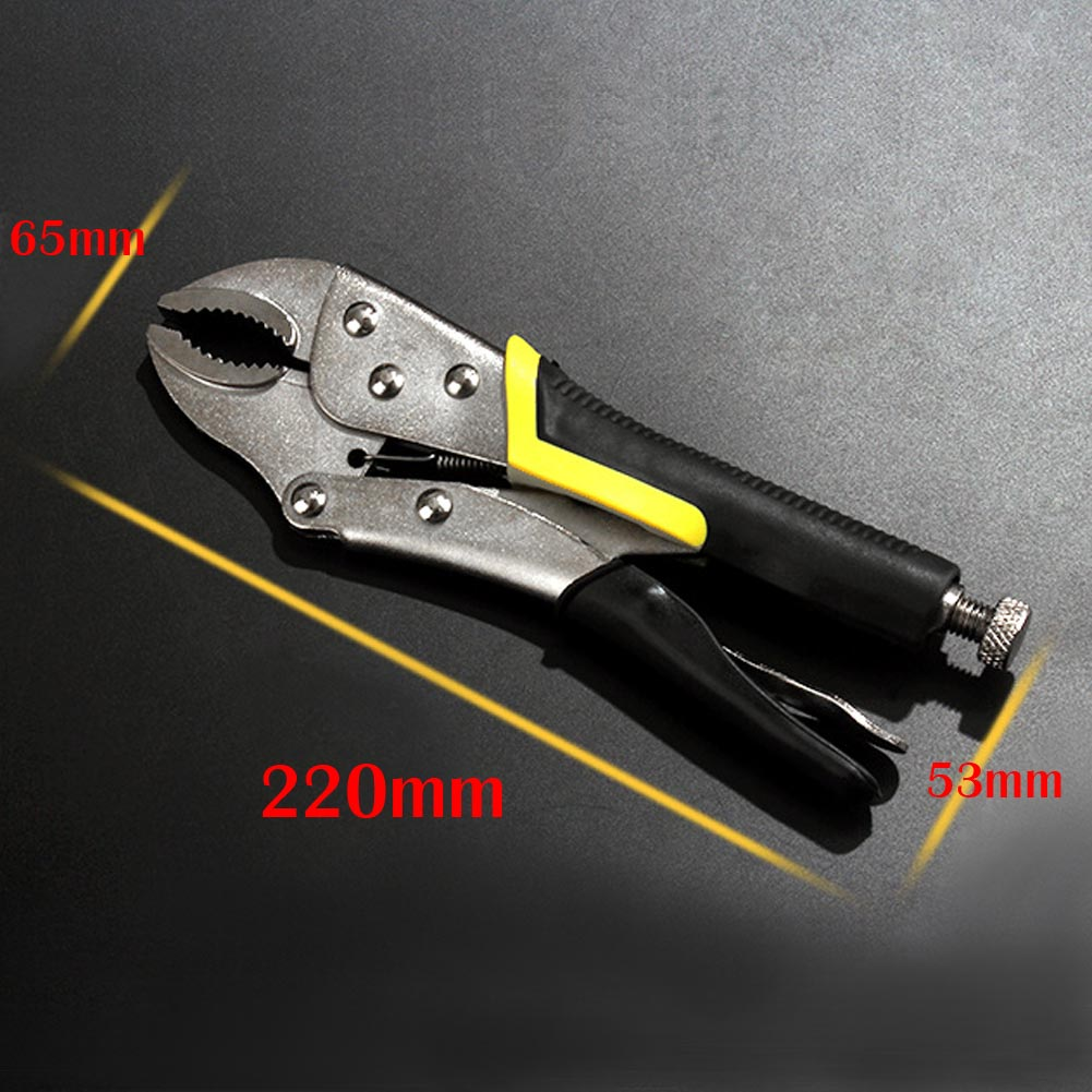 Bi-Material Round Mouth Slip Joint Pliers Cutter Heavy Duty Tackle Tool