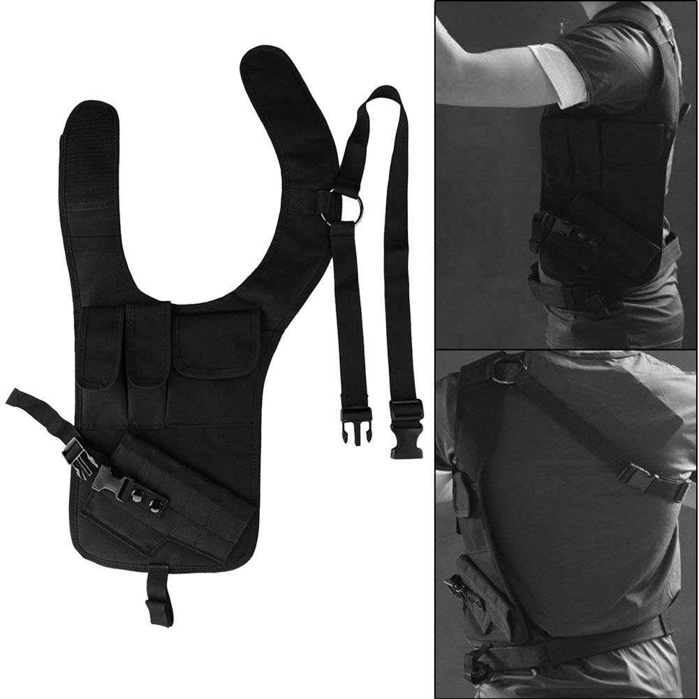 Multifunction Tactical Climbing Hunting Single Shoulder Pistol Holder Bag