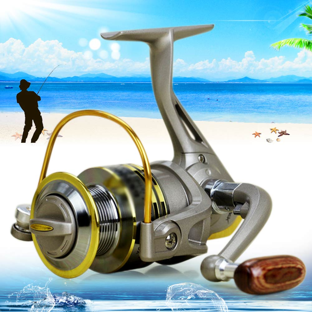 Portable 12BB Metal Left/Right Interchangeable Fishing Reel Fish Wheel