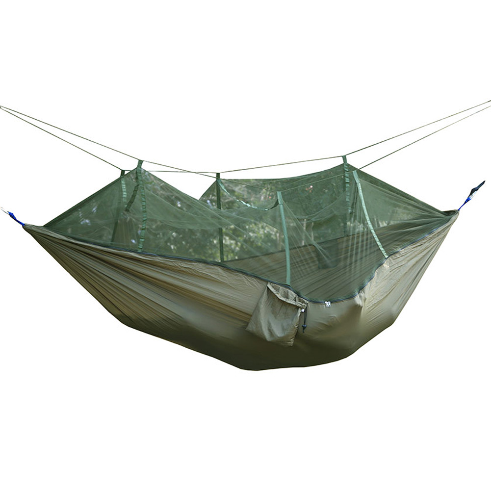 Portable Outdoor Camping Hiking Mosquito Net for Double Hammock Hanging Bed