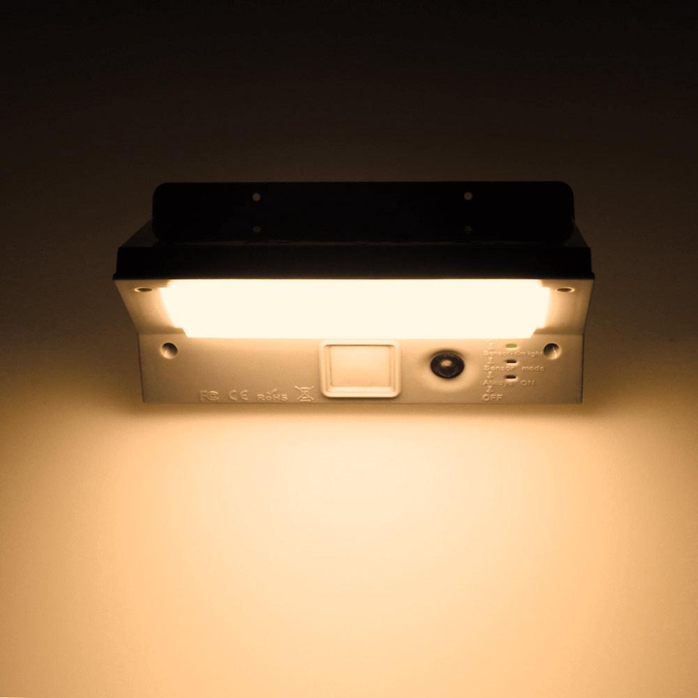 Wholesale 21LED 3Mode Solar SensorPIR MotionActivatedGarden LightWall Lamp WarmWhite