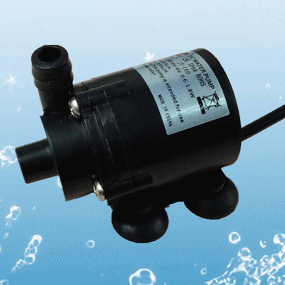 Ip68 dc12v 280l h brushless motor submersible pool for Submersible fish tank pump