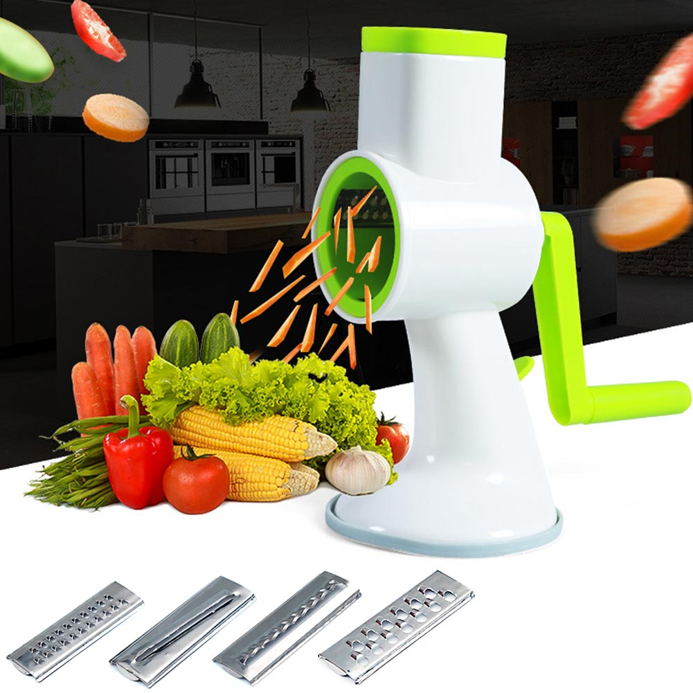 Multifunction Manual Stainless Steel Vegetable Potato Slicer Cutter Peeler