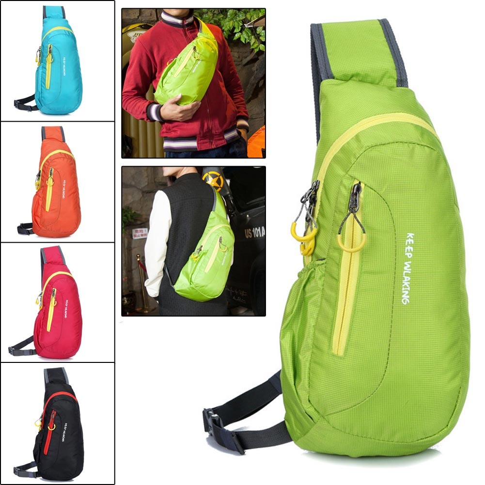 Outdoor Multifunction Sports Travel Waterproof Single Shoulder Chest Bag