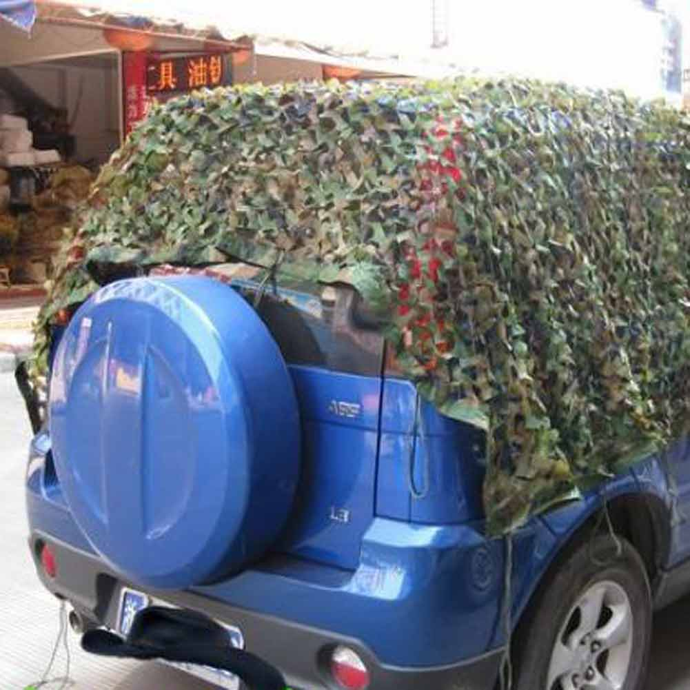2x3M Hunting Camping Military Camouflage Net Woodland Camo Netting Cover