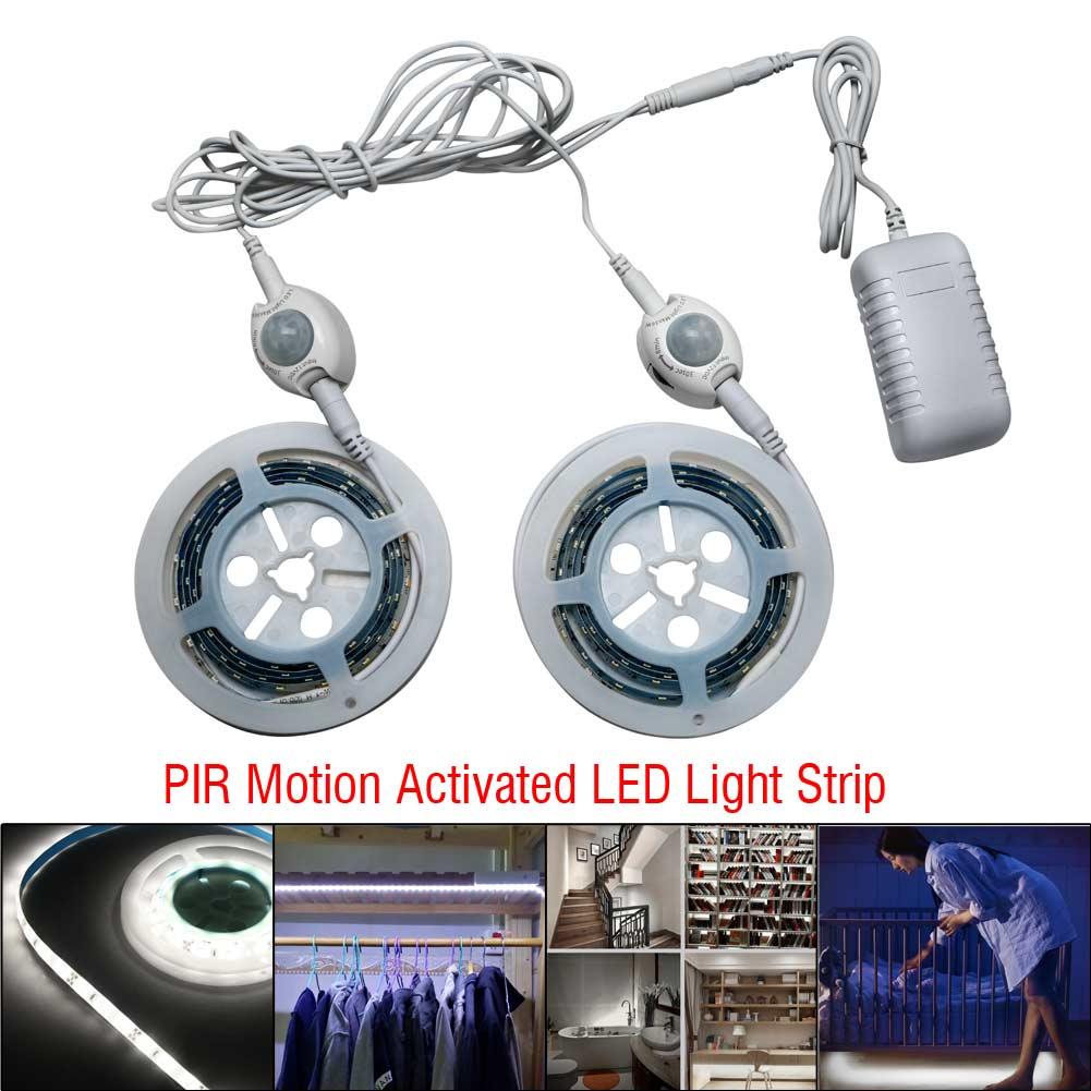 Motion Activated Bed Light Flexible Led Strip Sensor