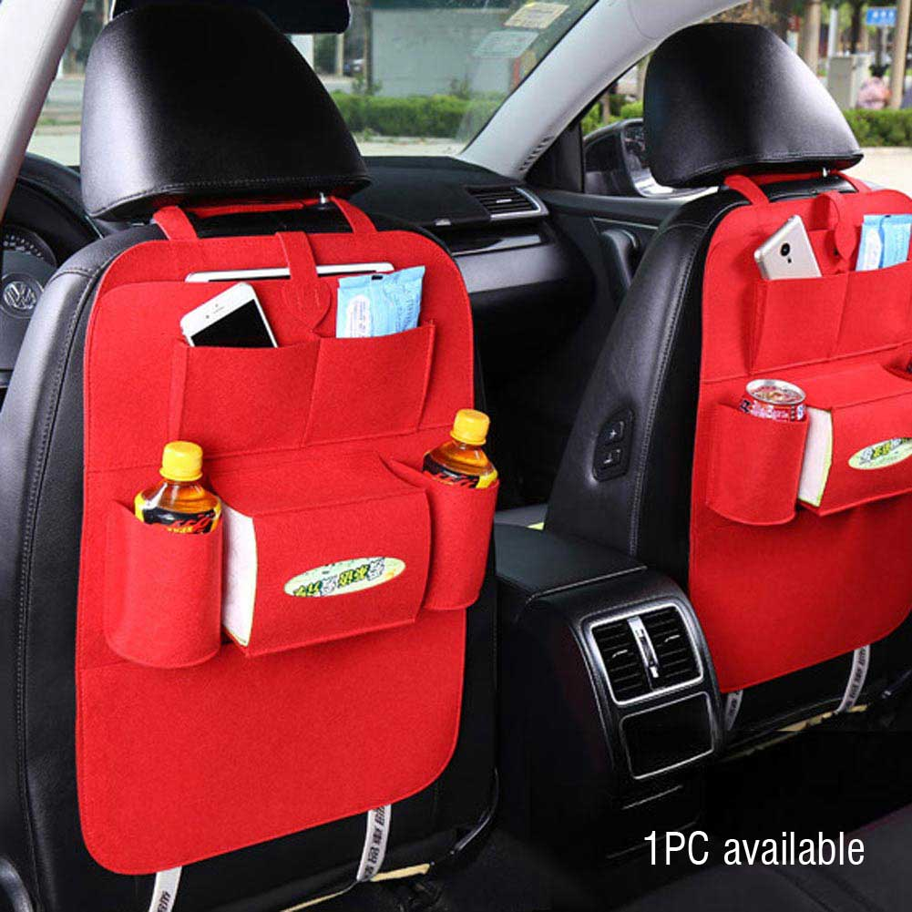 Auto Car Back Seat Organizer Holder Multi Pocket