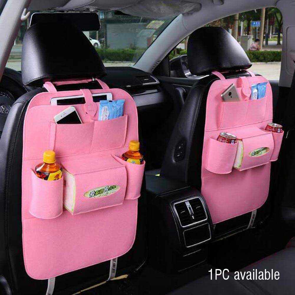 auto car seat back multi pocket storage bag organizer. Black Bedroom Furniture Sets. Home Design Ideas