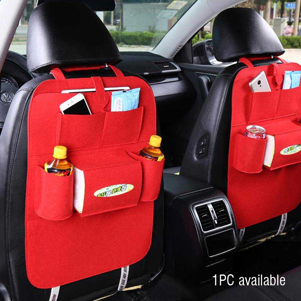 Details About Auto Car Back Seat Organizer Holder Multi Pocket Travel Storage Bag Hanger