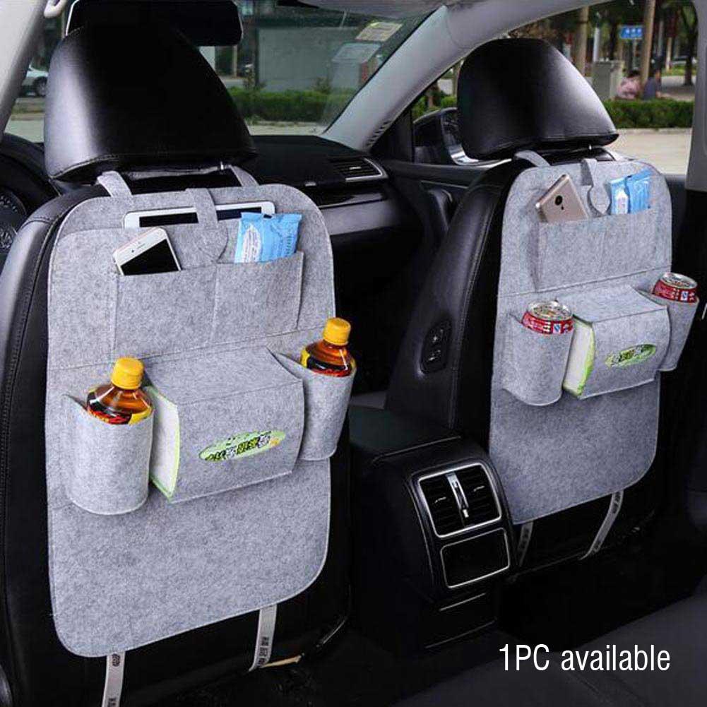 Auto Car Back Seat Organizer Holder Multi Pocket Travel