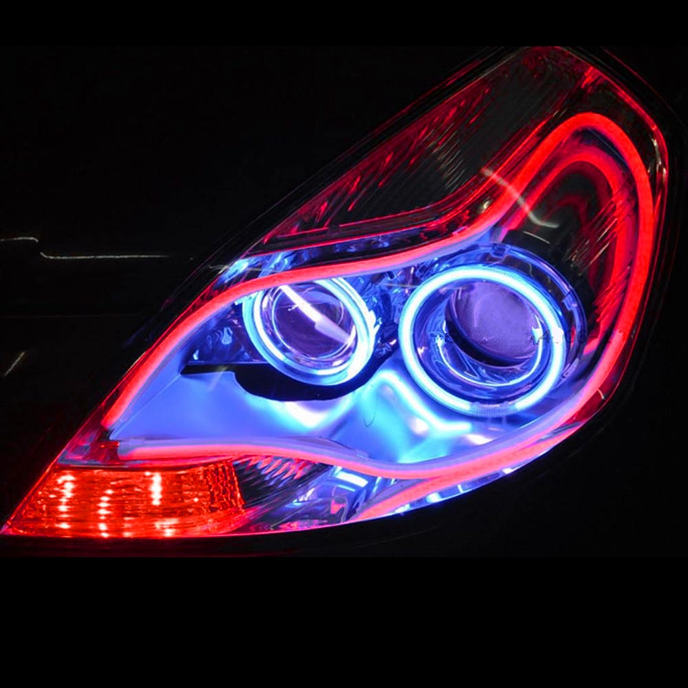 4 Color Soft Flexible Tube Led Strip Daytime Headlight Running Lamp Headlamp Ebay