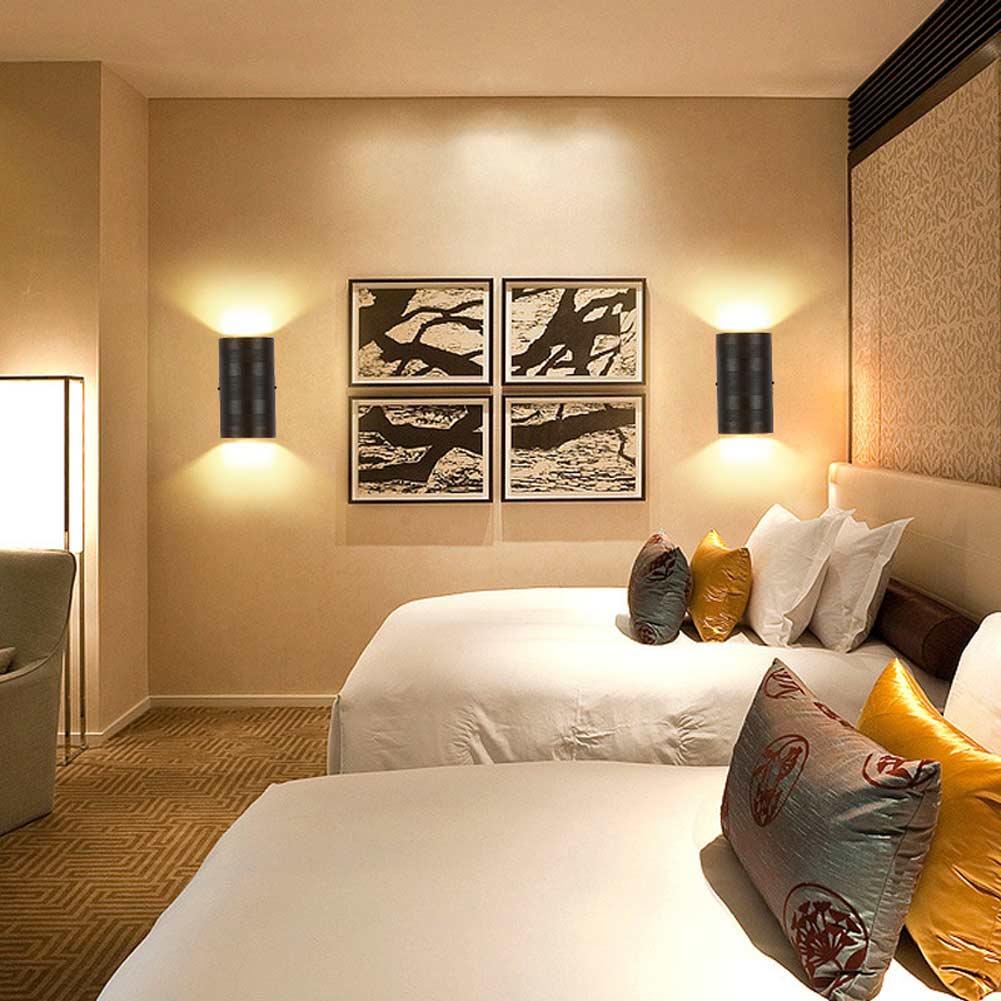 Design wohn zimmer wand leuchten aluminium wandleuchte for Wohn design