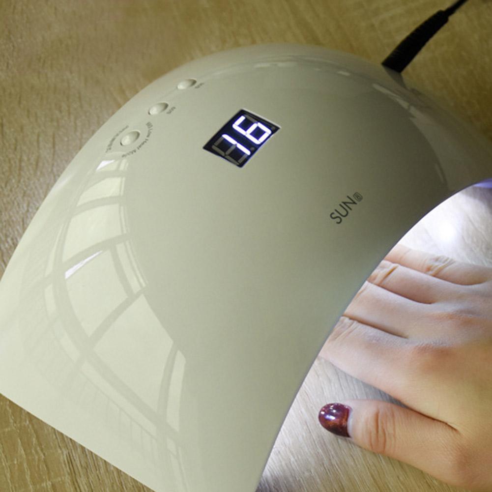 SUNUV 48W 21 LED Nail Light UV Lamp Manicure Dryer Curing Gel Nail ...