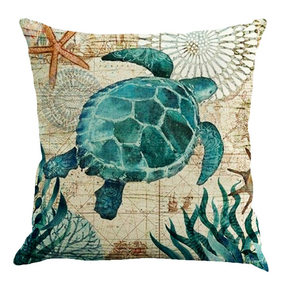 Square Throw Pillow Cover : Retro Square Cotton Linen Throw Pillow Case Cushion Cover Home Sofa Decor Square eBay
