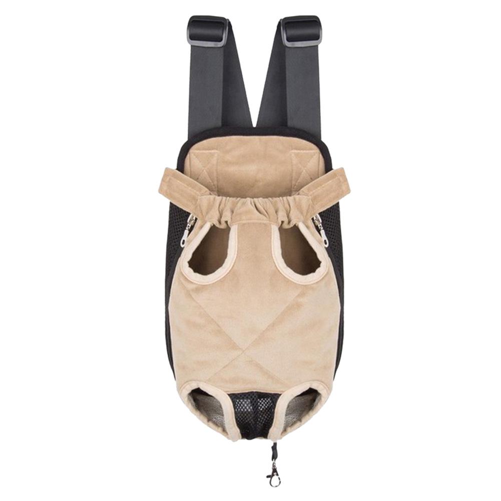 Outdddor Adjustable Pet Dog Puppy Cat Leg Out Front Bag Carrier Backpack