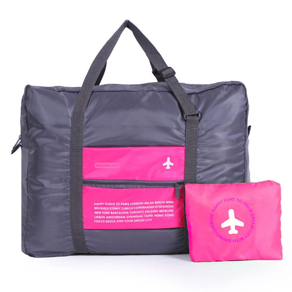 Wholesale Waterproof Portable Foldable Travel Luggage Handbag Storage Organizer Rose