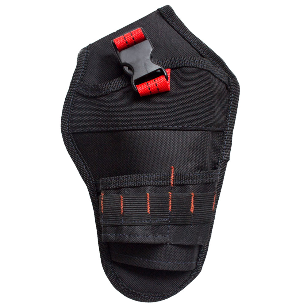 Wholesale Multifunction Portable Hanging Tool Storage Bag Waist PouchHolder Black Red