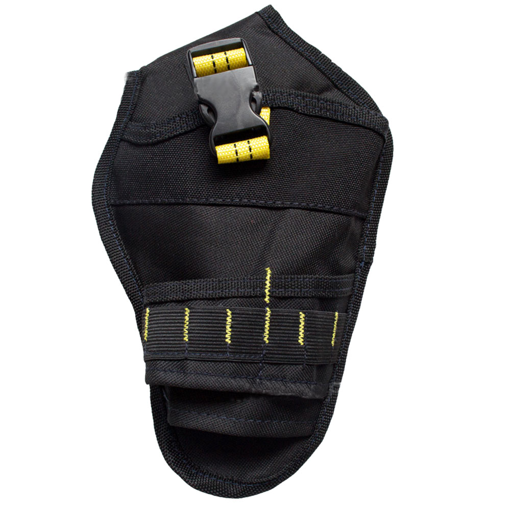 Wholesale Multifunction Hanging Tool Storage Bag Waist Pouch Holder Black Yellow