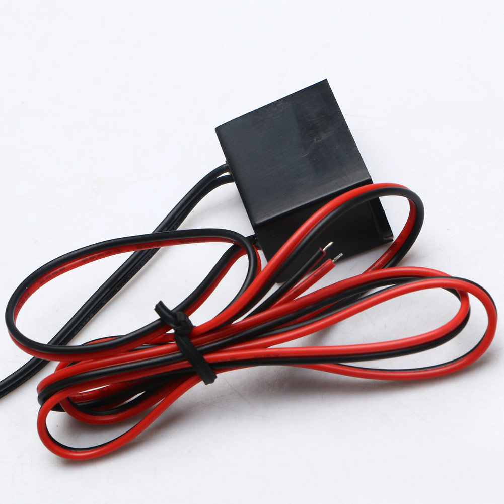 Mini DC12V 1-5M EL Wire Cable Neon Glow Strip Light Power Driver Inverter