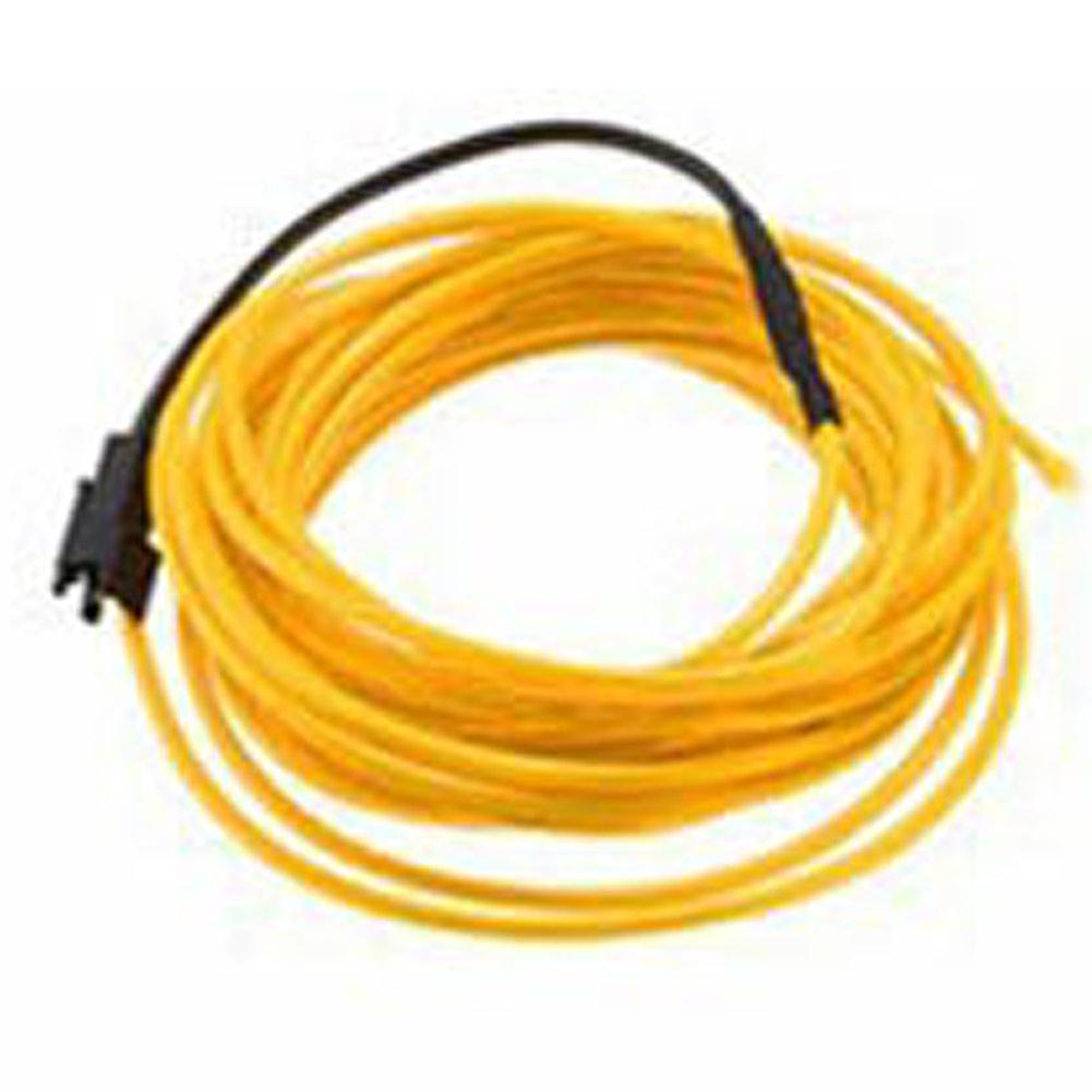 EL-Kabel 12V Neon Lichtschnur Leuchtschnur Leuchtdraht Wire String ...