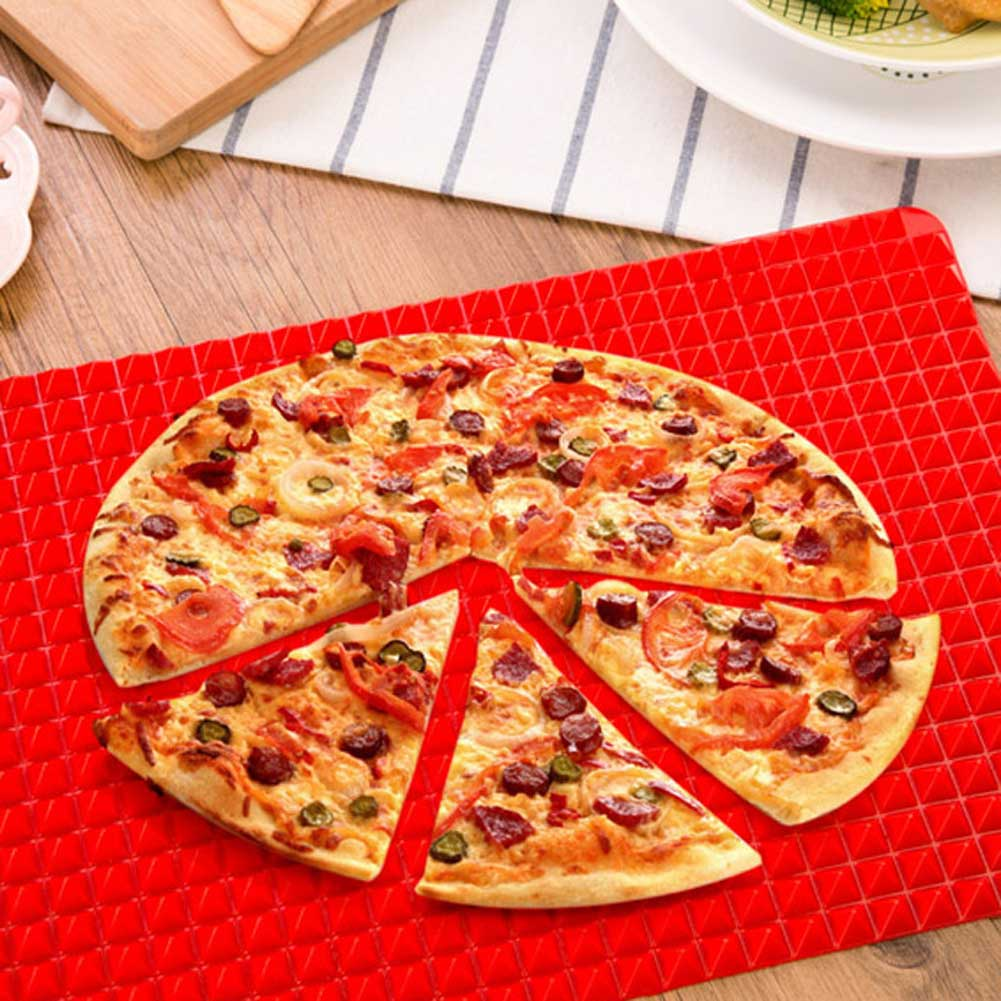 Multifunction Silicone Nonstick BBQ Baking Pan Sheet Mat Bath Anti-slip Pad