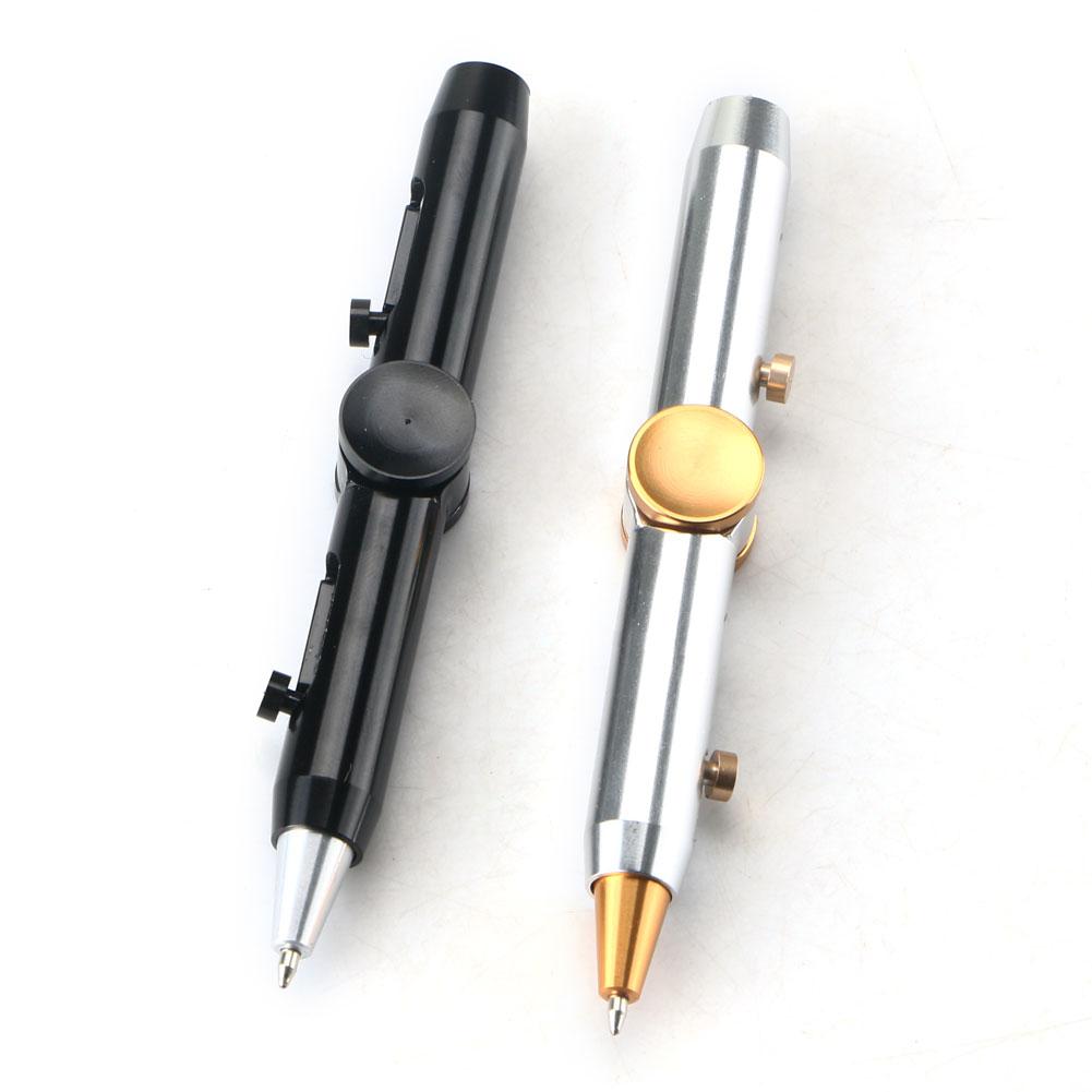 Fidget Spinner Pen Hand Gear Fidget Anxiety Stress EDC ...