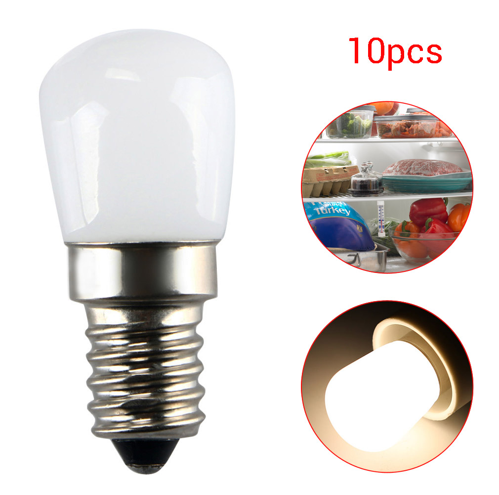 E14/E12 2W 2835SMD LED Refrigerator Fridge Freezer Lamp Light Bulb 110/220V