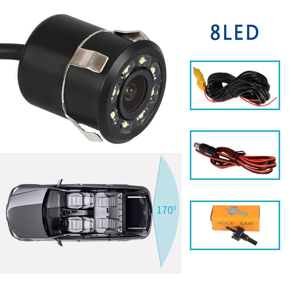 HD Waterproof 170�8LED Night Vison Reverse Backup Car Rear View Camera