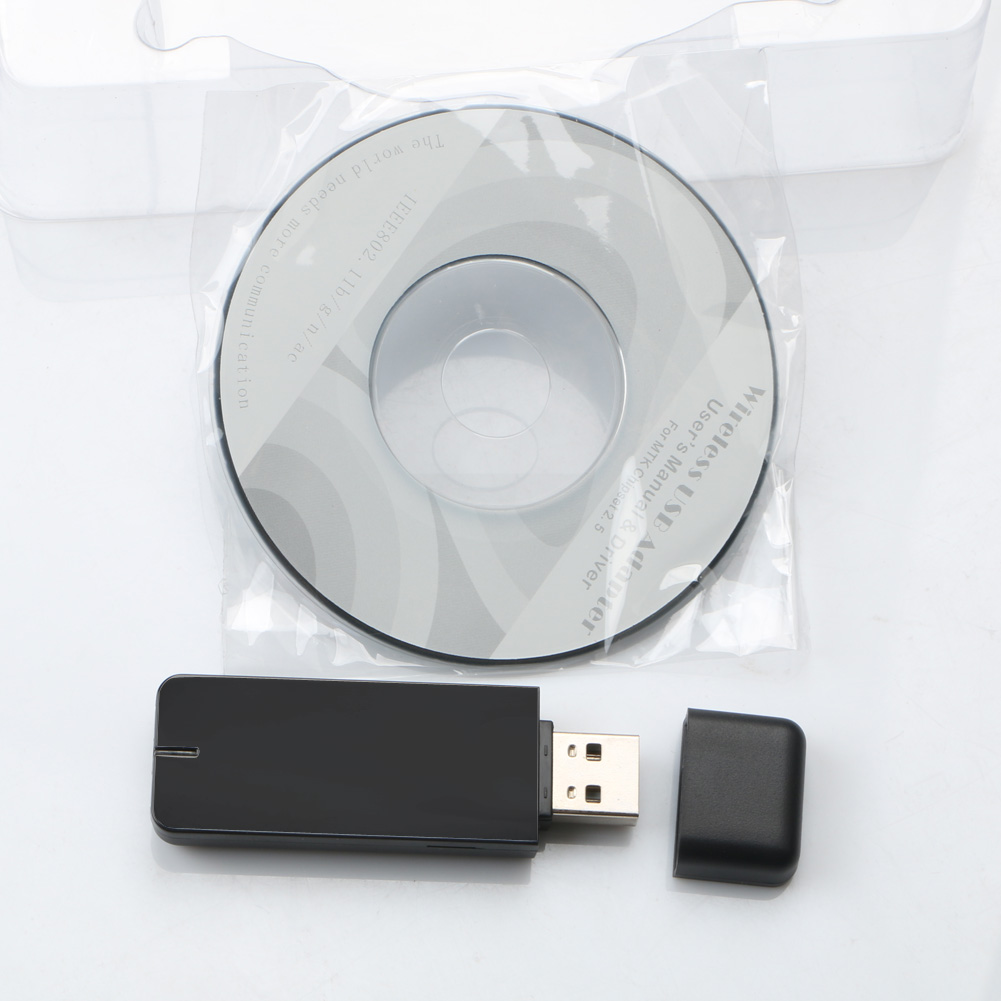 5G 300Mbps Wifi Mini USB Adapter Wireless LAN Network Wireless Dongle